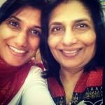 Reena with mama desai